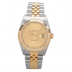 Pre-Owned Rolex Mens Oyster Perpetual Datejust Watch 16233-10631