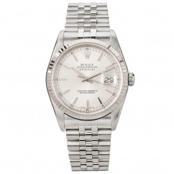 Rolex Mens Oyster Perpetual Datejust Watch 16234 - Year 2003