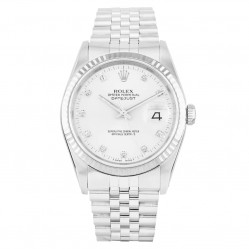 Rolex Mens Oyster Perpetual Datejust Watch 16234 - Year 1991