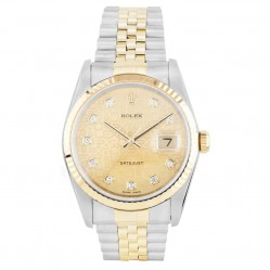 Rolex Mens Oyster Perpetual Datejust Watch 16233 - Year 2000