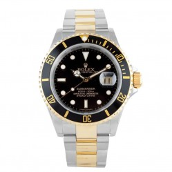 Rolex Mens Oyster Perpetual Submariner Watch 16613 - Year 2005