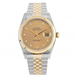 Rolex Mens Oyster Perpetual Datejust Watch 16233 - Year 1992