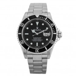 Rolex Mens Oyster Perpetual Date Submariner Watch 16610 - Year 2001