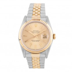 Pre-Owned Rolex Mens Oyster Perpetual Datejust Watch 16233(12153) - Year 1990