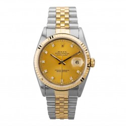 Pre-Owned Rolex Mens Oyster Perpetual Datejust Watch 16233(13085) - Year 1996