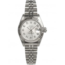 Pre-Owned Rolex Ladies DateJust Watch 79174