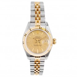 Pre-Owned Rolex Ladies Oyster Perpetual Datejust Watch 69173-6691