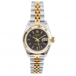 Pre-Owned Rolex Ladies Oyster Perpetual Datejust Watch 69173-6668