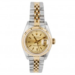Pre-Owned Rolex Ladies Oyster Perpetual Datejust Watch 69173