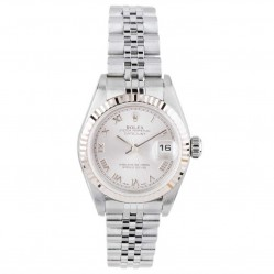 Pre-Owned Rolex Ladies Oyster Perpetual Datejust Watch 79174-6666