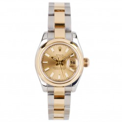 Pre-Owned Rolex Ladies Oyster Perpetual Datejust Watch 179163