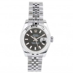 Pre-Owned Rolex Ladies Oyster Perpetual Datejust Watch 179174-7282