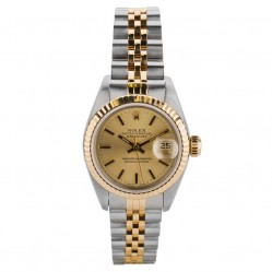 Pre-Owned Rolex Ladies Oyster Perpetual Datejust Watch 69173-8348