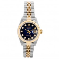 Pre-Owned Rolex Ladies Oyster Perpetual Datejust Watch 69173-7372