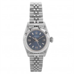 Pre-Owned Rolex Ladies Oyster Watch 67194-8260