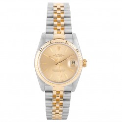 Pre-Owned Rolex Ladies Midi Oyster Perpetual Datejust Watch 68273-7162