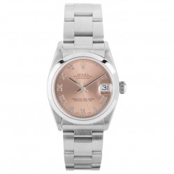 Pre-Owned Rolex Ladies Midi Oyster Perpetual Datejust Watch 78240-8376