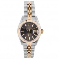 Pre-Owned Rolex Ladies Oyster Perpetual Datejust Watch 69173-32240