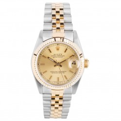 Pre-Owned Rolex Midi Oyster Perpetual Datejust Watch 68273-32403