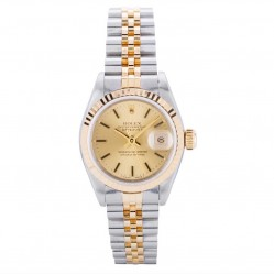Rolex Ladies Oyster Perpetual Datejust Watch 69173-8507