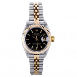 Pre-Owned Rolex Ladies Oyster Perpetual Datejust Watch 69173-8385