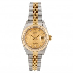 Pre-Owned Rolex Ladies Oyster Perpetual Datejust Watch 69173-9302