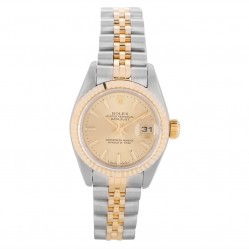 Pre-Owned Rolex Ladies Oyster Perpetual Datejust Watch 69173-BQ34010