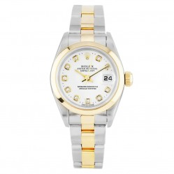 Rolex Ladies Oyster Perpetual Datejust Watch 79163 - Year 2002
