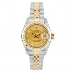 Rolex Ladies Oyster Perpetual Datejust Watch 69173 - Year 1988
