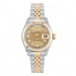 Rolex Ladies Oyster Perpetual Datejust Watch 69173 - Year 1996