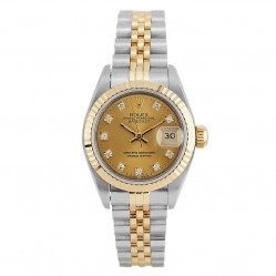 Rolex Ladies Oyster Perpetual Datejust Watch 69173 - Year 1993