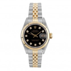 Rolex Ladies Oyster Perpetual Datejust Watch 69173 - Year 1992
