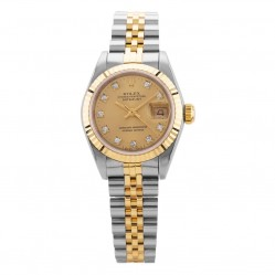 Pre-Owned Rolex Ladies Oyster Perpetual Datejust Watch 69173(11218) - 1989