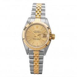 Pre-Owned Rolex Ladies Oyster Perpetual Datejust Watch 69173(12970) - Year 1996