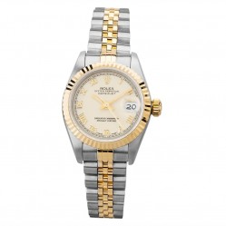 Pre-Owned Rolex Ladies Oyster Perpetual Datejust Watch 69173(12983) - Year 1997