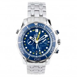 Pre-Owned Omega Mens Seamaster Professional Chronograph Watch 212.30.44.52.03001