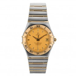 Pre-Owned Omega Mens Constellation Bracelet Watch 12021000-31117
