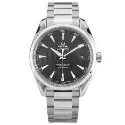 Pre-Owned Omega Seamaster Aqua Terra Black Bracelet Watch 231.10.42.21.01.003