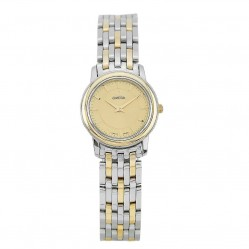 Pre-Owned Omega Two Tone Q Bracelet Watch 4406025
