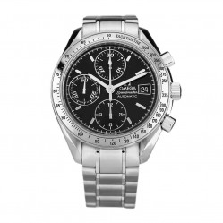 Pre-Owned Omega Speedmaster Black Bracelet Watch 3513.50.00 (BQ33498)