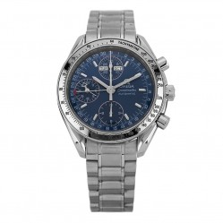 Pre-Owned Omega Speedmaster Automatic Blue Bracelet Watch 3523.80.00