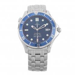 Pre-Owned Omega Seamaster 300m Chronometer Blue Bracelet Watch 2531.80.00