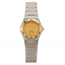 Pre-Owned Omega Constellation Diamond Bracelet Watch R517224(457)