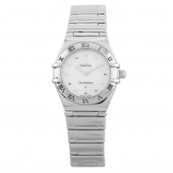 Pre-Owned Omega Constellation Silver Bracelet Watch 795.1243