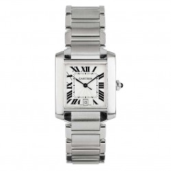 Pre-Owned Cartier Tank Francaise Automatic Watch 2302-BQ30307