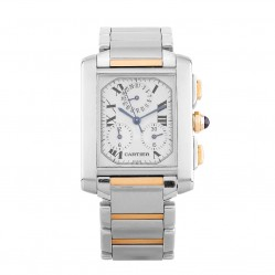 Pre-Owned Cartier Tank Francaise Two Tone Bracelet Watch 2303