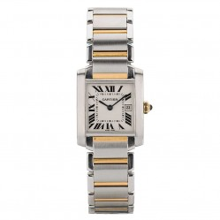 Pre-Owned Cartier Ladies Tank Francaise Watch 2465-27665