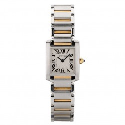 Pre-Owned Cartier Ladies Tank Francaise Watch 2384-32652.