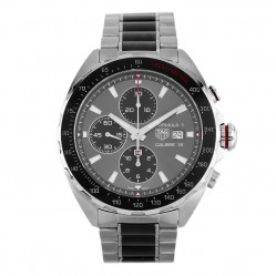 Pre-Owned TAG Heuer Formula 1 Calibre 16 Chronograph Black Bracelet Watch CAZ2012.BA0970