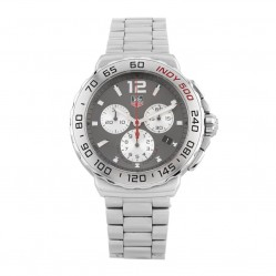 Pre-Owned TAG Heuer Formula 1 Indy 500 Grey Bracelet Watch CAU1113.BA0858
